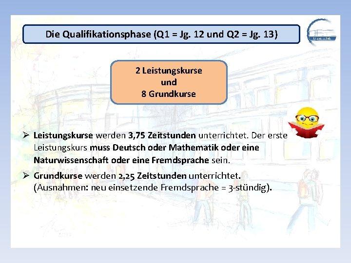 Die Qualifikationsphase (Q 1 = Jg. 12 und Q 2 = Jg. 13) 2