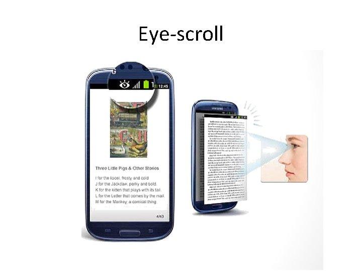 Eye-scroll
