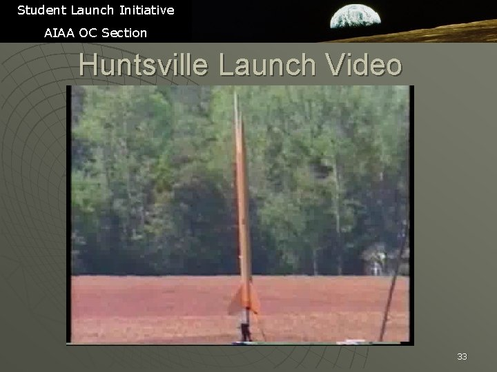 Student Launch Initiative AIAA OC Section Huntsville Launch Video 33