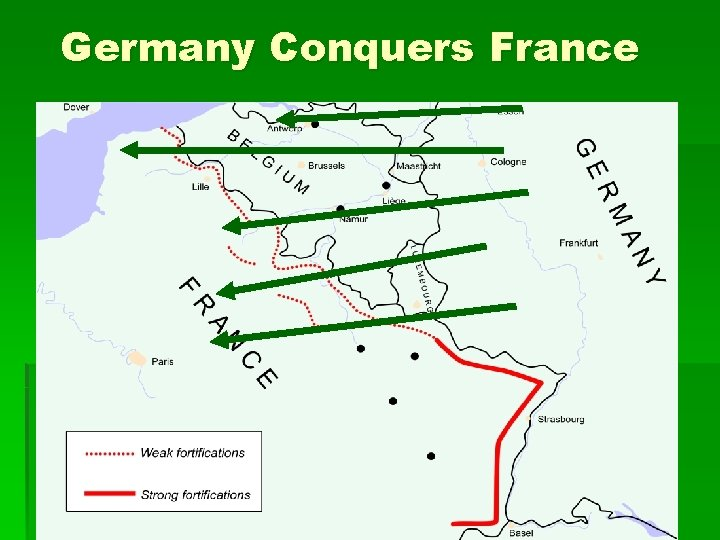 Germany Conquers France