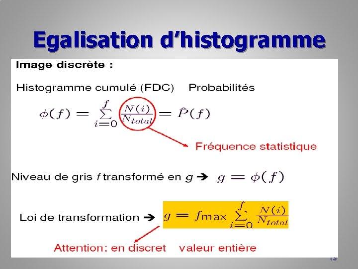 Egalisation d'histogramme 19