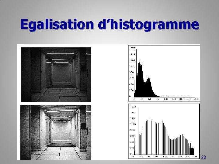 Egalisation d'histogramme 22