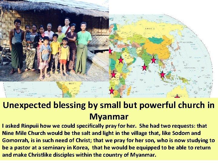 http: //globalmission. nazarene. org/ Sandra Great Britain David Mexico Saurabh Bangladesh, Angola, Namibia Ruth