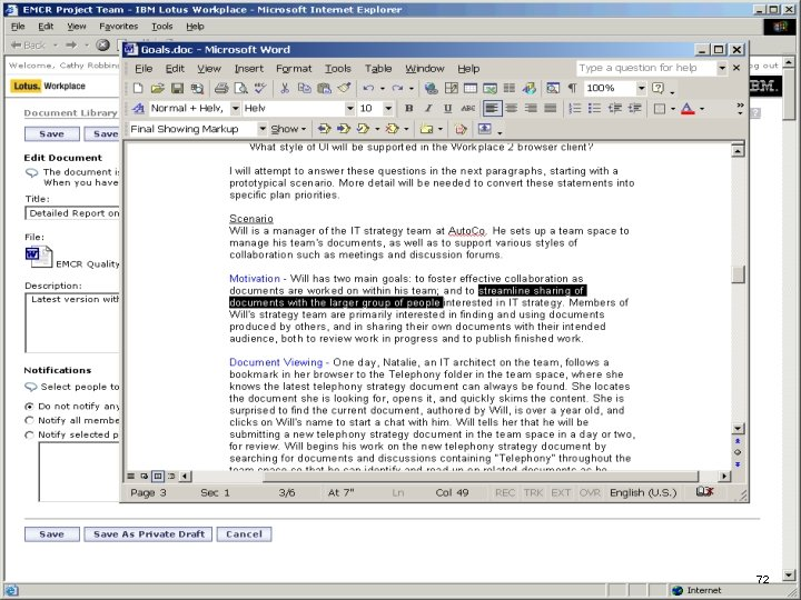 IBM Software 72