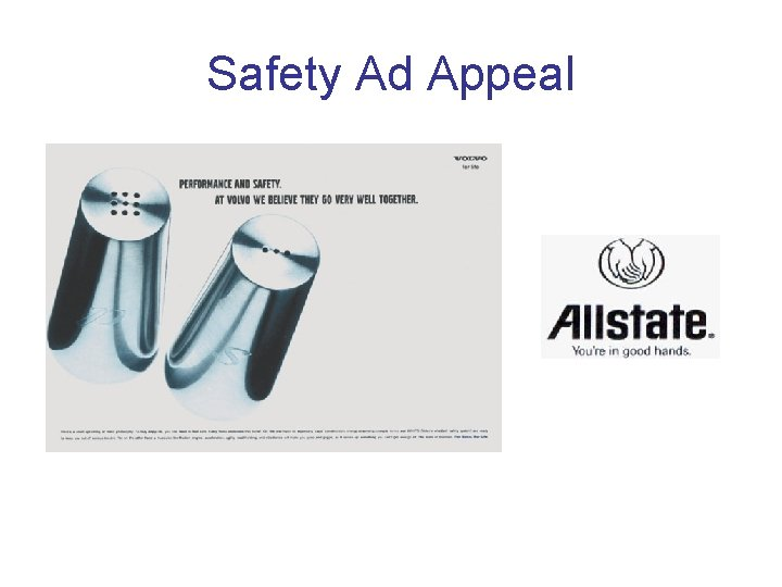 Safety Ad Appeal