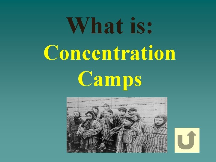 What is: Concentration Camps