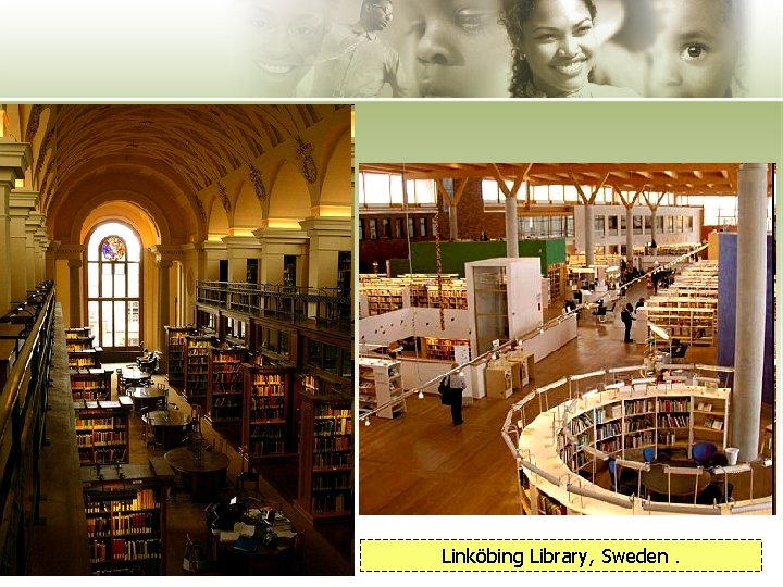 Linköbing Library, Sweden.
