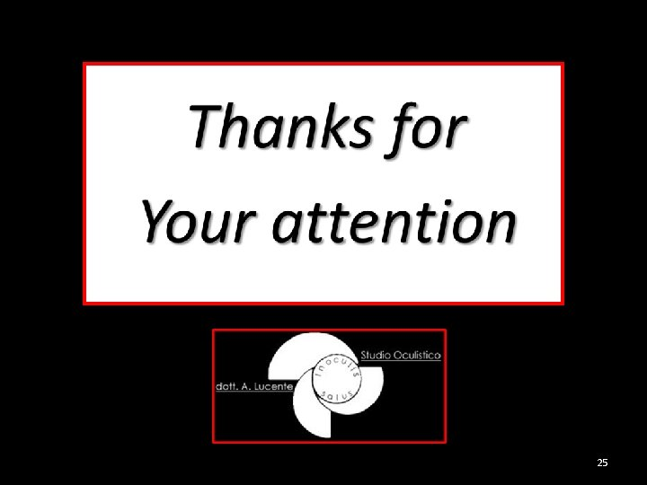 Thanks for Your attention 25