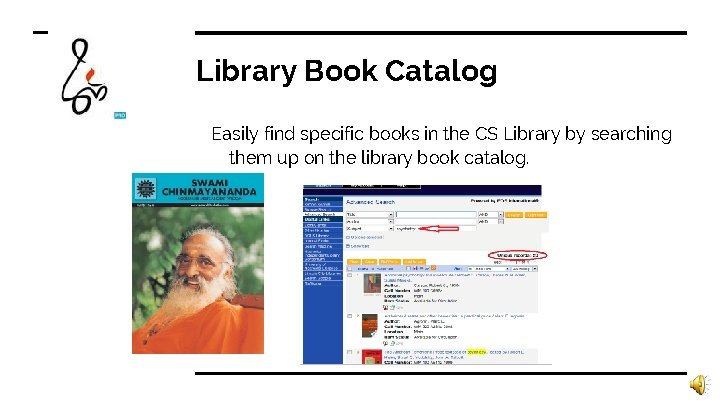 Library Book Catalog Easily find specific books in the CS Library by searching them
