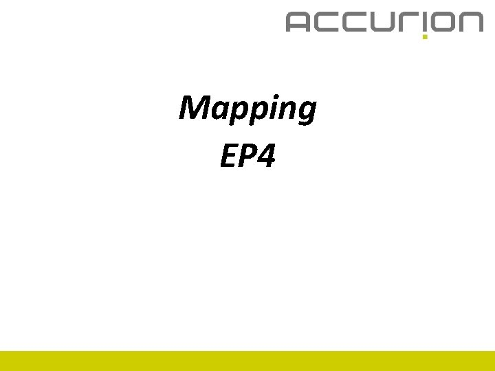 Mapping EP 4
