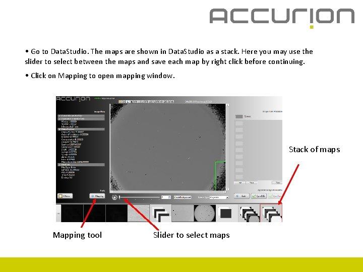 • Go to Data. Studio. The maps are shown in Data. Studio as
