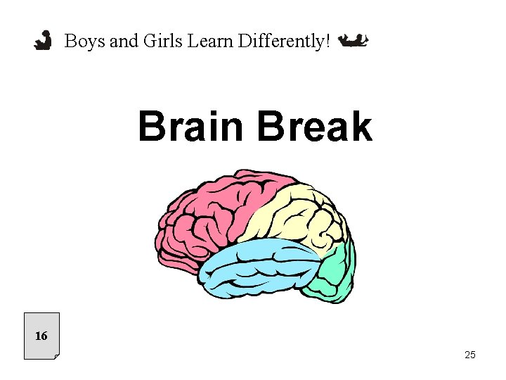 Boys and Girls Learn Differently! Brain Break 16 25