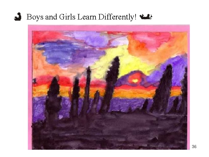 Boys and Girls Learn Differently! 36