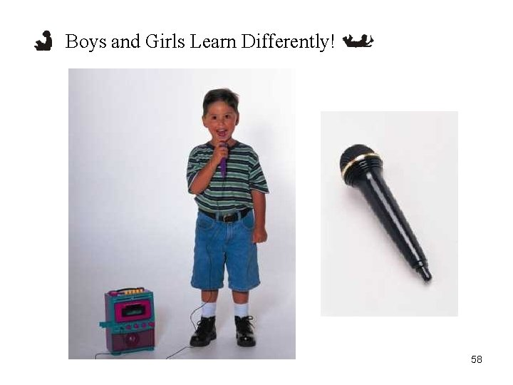 Boys and Girls Learn Differently! 58