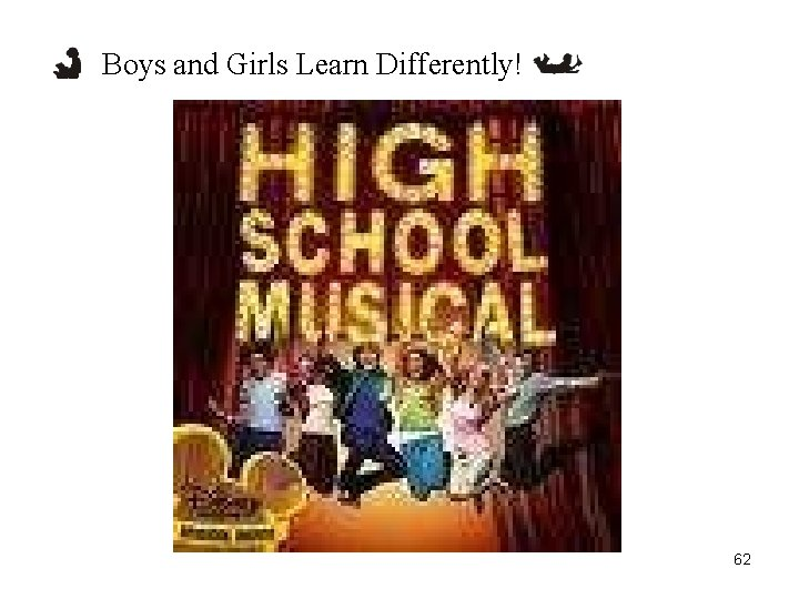 Boys and Girls Learn Differently! 62