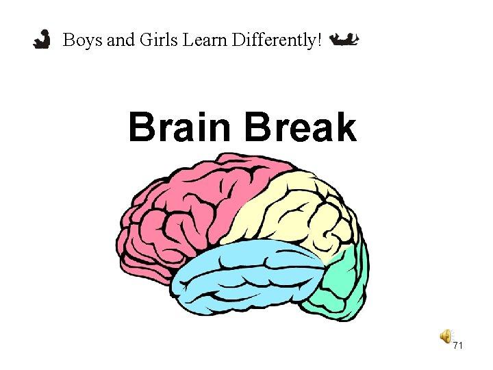 Boys and Girls Learn Differently! Brain Break 71