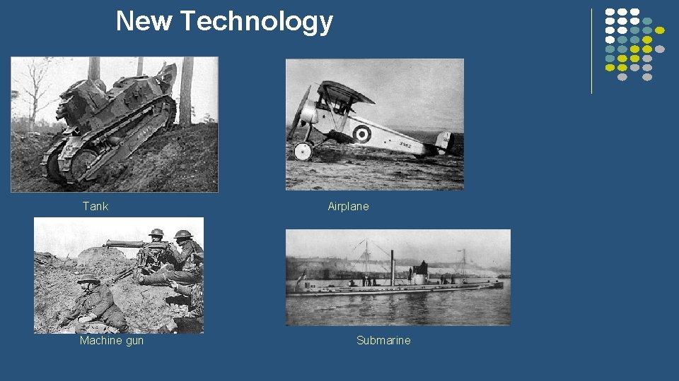New Technology Tank Machine gun Airplane Submarine