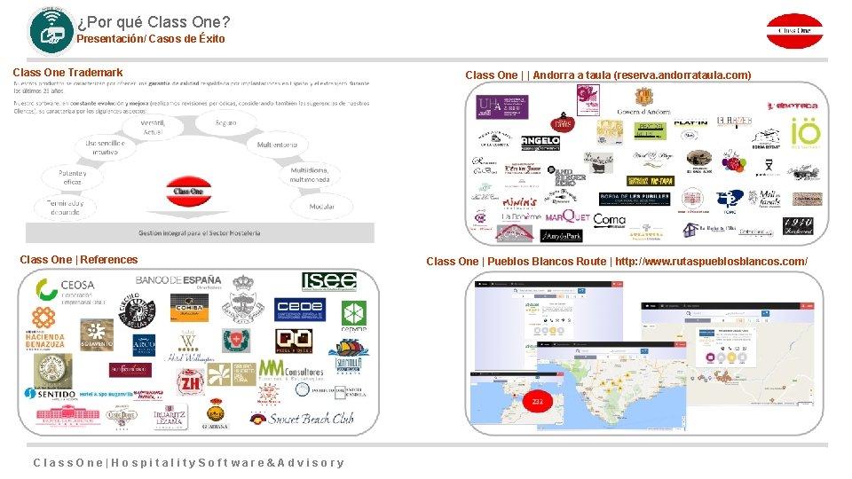¿Por qué Class One? Presentación/ Casos de Éxito Class One Trademark Class One |