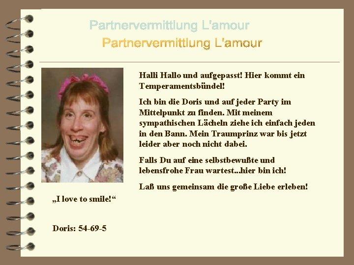 hallo partnervermittlung)