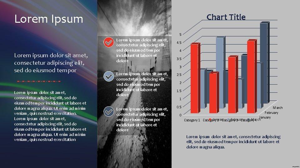 Lorem Ipsum Chart Title 5 Lorem ipsum dolor sit amet, consectetur adipiscing elit, sed