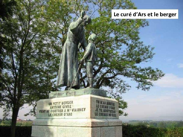 Le curé d'Ars et le berger