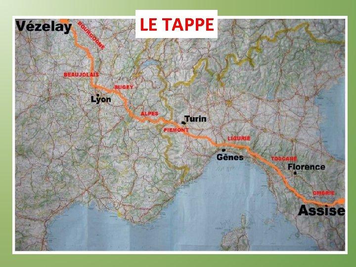LE TAPPE