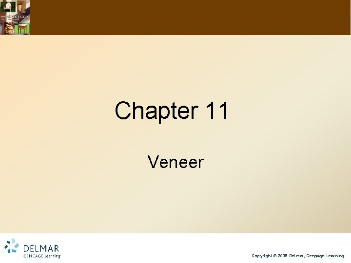 Chapter 11 Veneer Copyright © 2009 Delmar, Cengage Learning