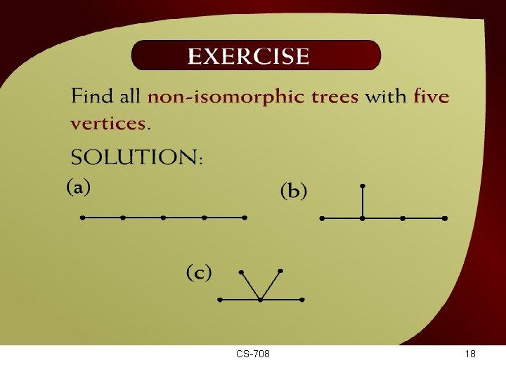 Exercise – (44 - 10) CS-708 18