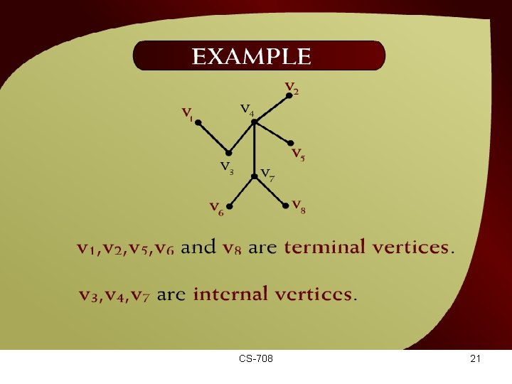 Example – (44 – 12 a) CS-708 21
