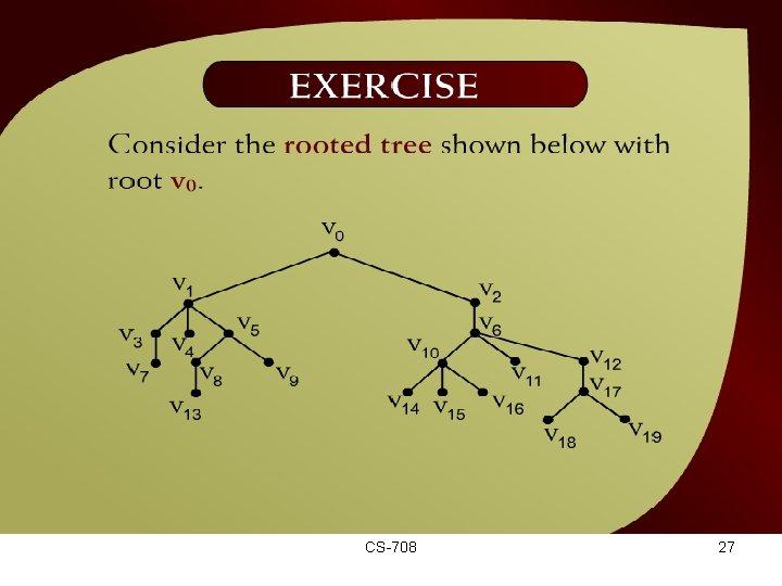 Exercise – (44 - 15) CS-708 27