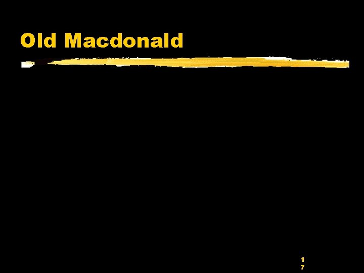 Old Macdonald 1 7