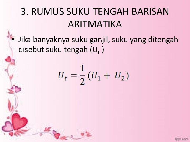 Aritmatika By Atmini Dhoruri Ms Barisan Aritmatika 1