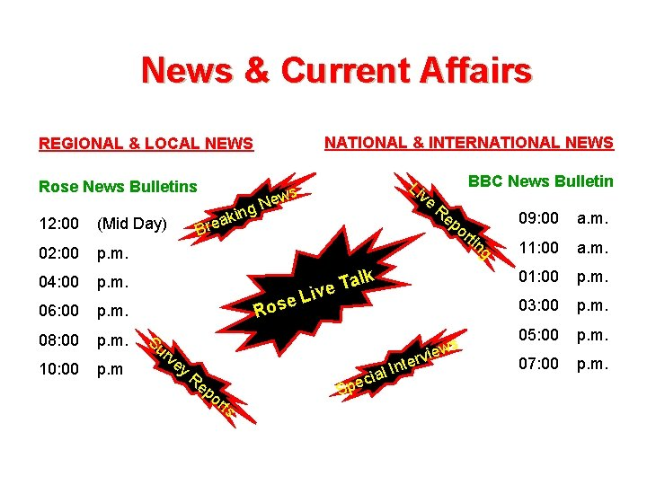 News & Current Affairs NATIONAL & INTERNATIONAL NEWS REGIONAL & LOCAL NEWS Rose News