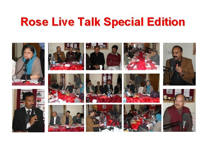 Rose Live Talk Special Edition