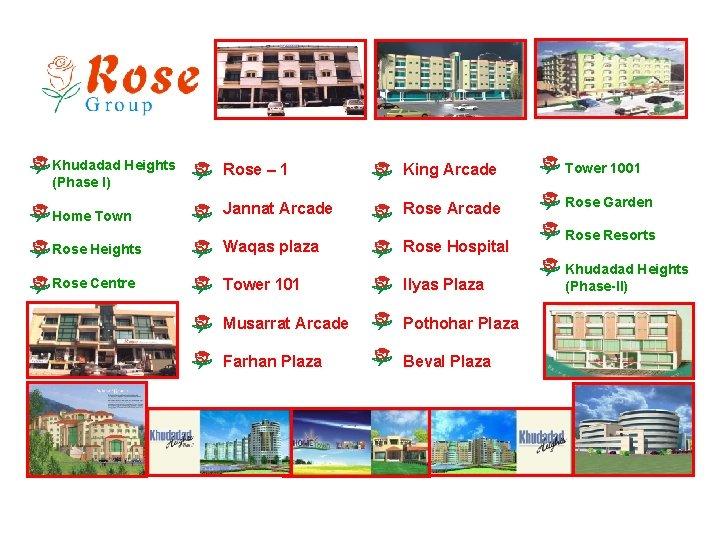 Khudadad Heights (Phase I) Rose – 1 King Arcade Tower 1001 Home Town Jannat