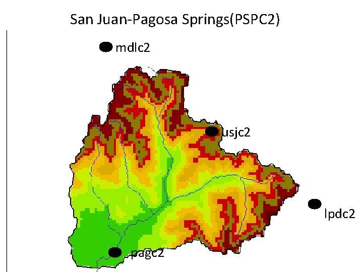 San Juan-Pagosa Springs(PSPC 2) mdlc 2 usjc 2 lpdc 2 pagc 2