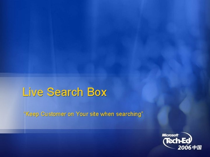 """Live Search Box """"Keep Customer on Your site when searching"""""""