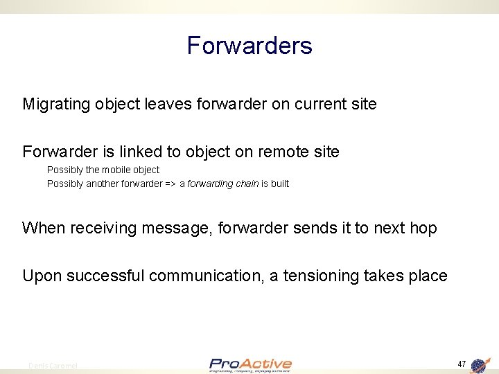Forwarders Migrating object leaves forwarder on current site Forwarder is linked to object on