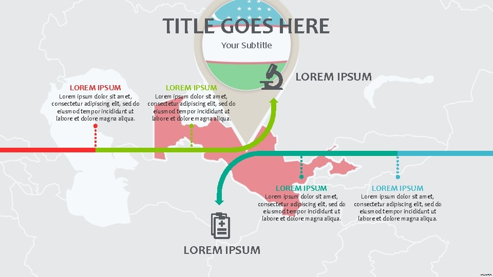 TITLE GOES HERE Your Subtitle LOREM IPSUM Lorem ipsum dolor sit amet, consectetur adipiscing