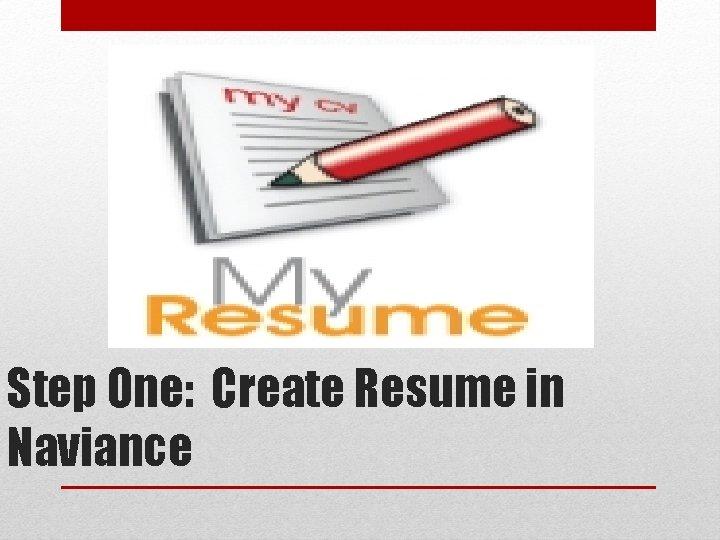 Naviance Resume My Career Portfolio