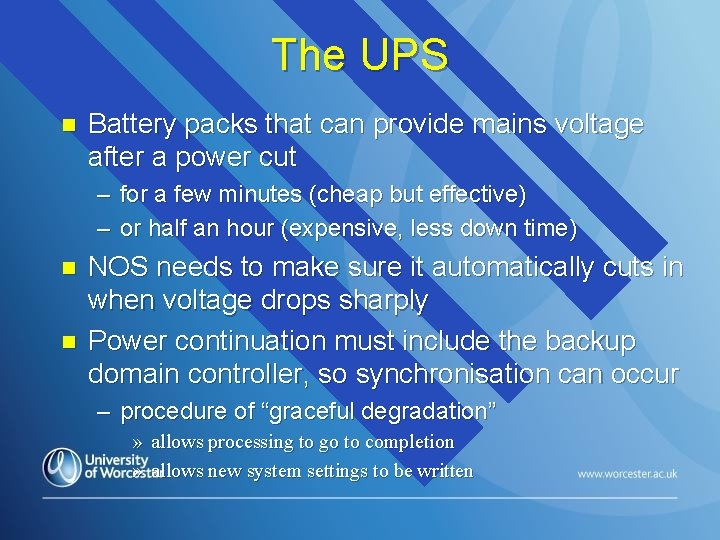 The UPS n Battery packs that can provide mains voltage after a power cut