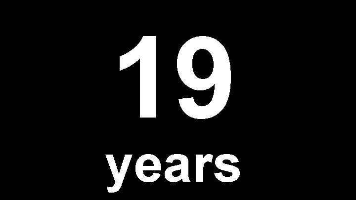 19 years