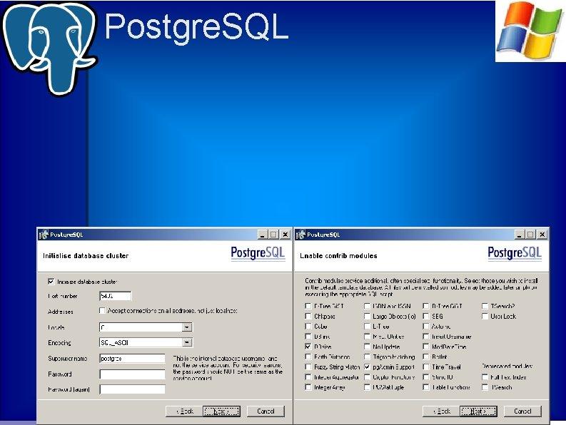 Postgre. SQL