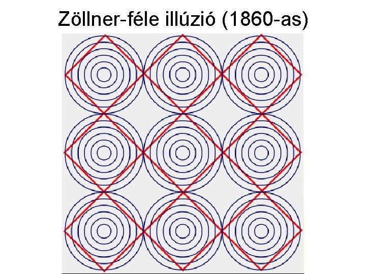 Zöllner-féle illúzió (1860 -as)