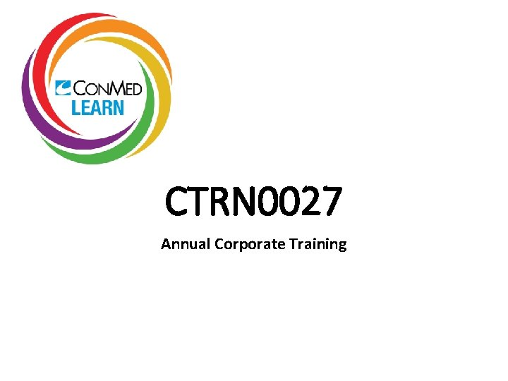 CTRN 0027 Annual Corporate Training