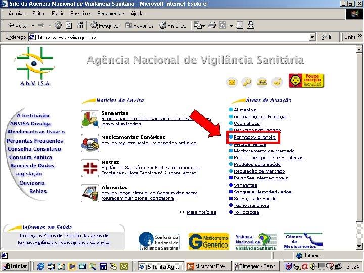Agência Nacional de Vigilância Sanitária www. anvisa. gov. br