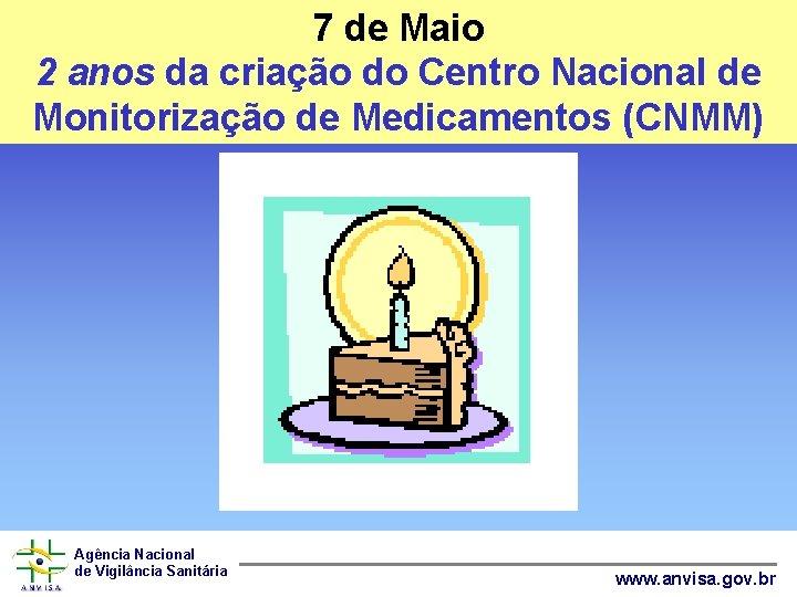 7 de Maio 2 anos da criação do Centro Nacional de Monitorização de Medicamentos