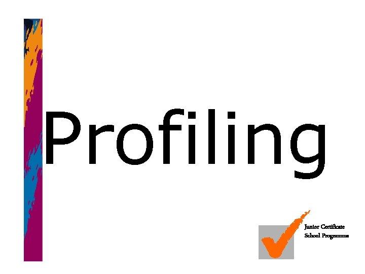 Profiling Junior Certificate School Programme