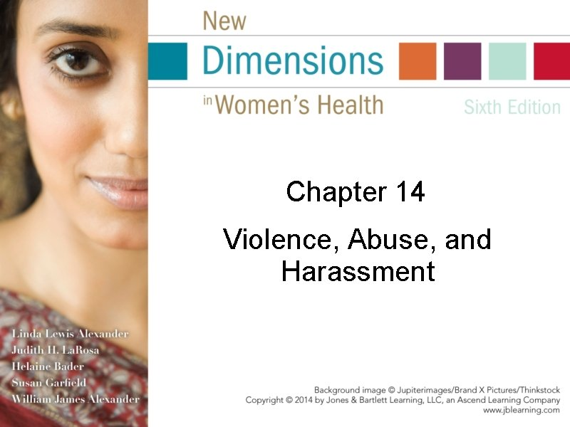 Chapter 14 Violence, Abuse, and Harassment