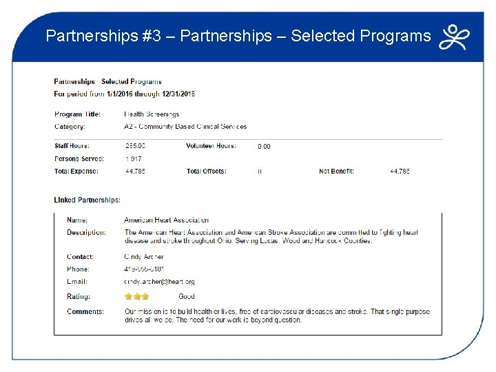 Partnerships #3 – Partnerships – Selected Programs